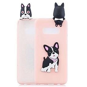 voordelige Galaxy S7 Hoesjes / covers-hoesje Voor Samsung Galaxy S9 / S9 Plus / S8 Plus Patroon Achterkant Hond / Cartoon Zacht TPU
