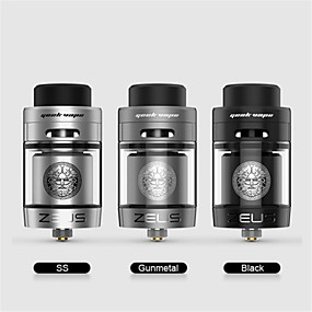 billige Damp Atomizers-MACAW Zeus Dual RTA Damp Atomizers Elektronisk cigaret for Voksen