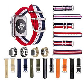 economico Accessori per Apple Watch-Cinturino per orologio  per Apple Watch Series 4/3/2/1 Apple Cinturino sportivo Nylon Custodia con cinturino a strappo