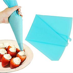 billige Hjem & Køkken-1pc Silikone Gel Småkage Cupcake til Kage Dessertværktøjer Bageværktøj