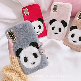 ieftine Carcase iPhone-Maska Pentru Apple iPhone XS Max / iPhone 6 Anti Șoc Capac Spate Mată Moale textil pentru iPhone XS / iPhone XR / iPhone XS Max