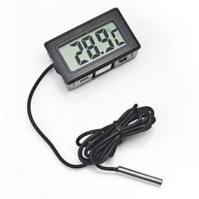 voordelige Aquarium Verwarming & Thermometers-Aquaria Thermometers Elektronisch / Electrisch W Batterij V Muovi
