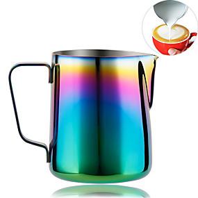 billige Køkken og spisestue-regnbuefarvet brugerdefinerede kaffekrus, mælkepulver til espressomaskiner