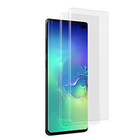 billige Samsung-tilbehør-Skærmbeskytter for Samsung Galaxy Galaxy S10 / Galaxy S10 Plus / Galaxy S10 E Hærdet Glas 1 stk Skærmbeskyttelse High Definition (HD) / 9H hårdhed / Eksplosionssikker