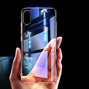 voordelige Huawei Honor hoesjes / covers-hoesje Voor Huawei Huawei P20 / Huawei P20 Pro / P10 Plus Transparant Achterkant Effen Hard TPU