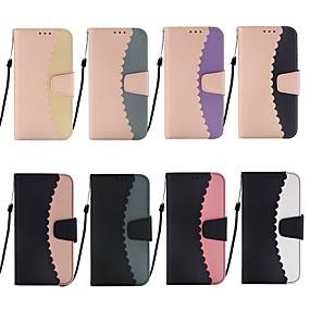 levne iPhone pouzdra-Carcasă Pro Apple iPhone XR / iPhone XS Max Peněženka / Pouzdro na karty / se stojánkem Celý kryt Kachlička Pevné PU kůže pro iPhone XS / iPhone XR / iPhone XS Max