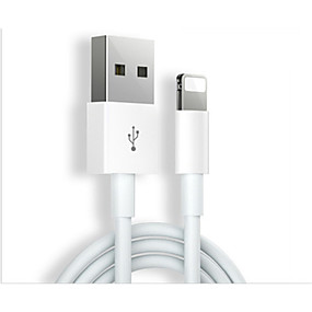 levne iPhone kabely a adaptéry-Osvětlení Kabel 1m-1.99m / 3ft-6ft Rychlé nabíjení TPE Adaptér kabelu USB Pro iPhone