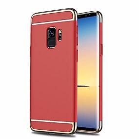 voordelige Galaxy S7 Hoesjes / covers-hoesje Voor Samsung Galaxy S9 / S8 Plus / S8 Schokbestendig / Beplating / Mat Achterkant Kleurgradatie Hard Muovi