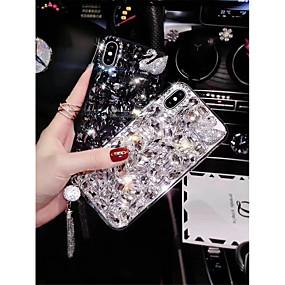 levne iPhone pouzdra-Carcasă Pro Apple iPhone XR / iPhone XS Max S kamínky Zadní kryt Kachlička / Zvíře Pevné TPU pro iPhone XS / iPhone XR / iPhone XS Max