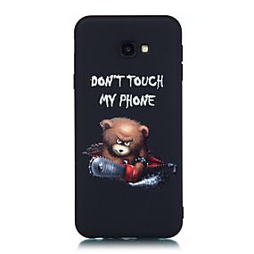 voordelige Galaxy Grand Prime Hoesjes / covers-hoesje Voor Samsung Galaxy J7 Prime / J7 (2017) / J5 Prime Mat / Patroon Achterkant Woord / tekst / dier Zacht TPU