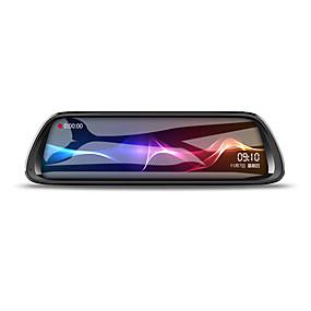 voordelige Auto DVR's-K62 1080p HD Auto DVR 170 graden Wijde hoek CMOS 10 inch(es) IPS Dash Cam met Nacht Zicht / G-Sensor / Parkeermodus Autorecorder