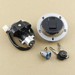 economico Allarmi auto-interruttore di accensione tappo del serbatoio del carburante set di chiavi per serratura per suzuki gsxr600 750 1000 03-15