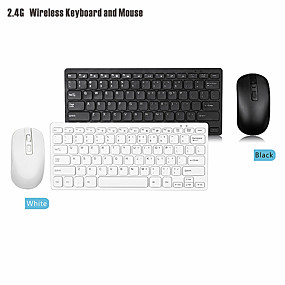 cheap Mouse Keyboard Combo-LITBest GKM901 Wireless 2.4GHz Mouse Keyboard Combo Mini / Office Use Numeric Keyboard Number Keypad Office Mouse 1200 dpi