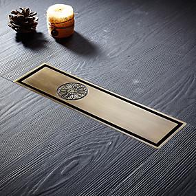cheap Bathroom Gadgets-Drain Creative Brass 1pc Floor Mounted