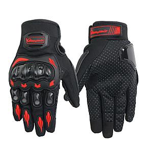 Недорогие Мотоциклетные перчатки-мотоциклетные перчатки унисекс лето дышащий мото верховая езда защитное снаряжение нескользящий сенсорный экран guantes