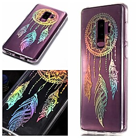 voordelige Galaxy S7 Edge Hoesjes / covers-hoesje Voor Samsung Galaxy S9 / S9 Plus / S8 Plus IMD / Patroon Achterkant Kleurgradatie Zacht TPU