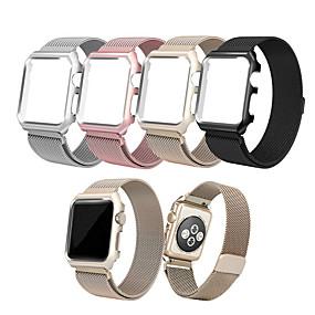 abordables Accessoires Apple-Bracelet de Montre  pour Apple Watch Series 4/3/2/1 Apple Bracelet Milanais Acier Inoxydable Sangle de Poignet