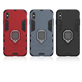 abordables Coques d'iPhone-cas de téléphone mobile de cas de pomme anneau de voiture anti-chute cas pour iphone5 / 5s / 5c / 6 / 6s / 6plus / 6splus / 7/8 / 7plus / 8plus / x / xr / xs / xsmax