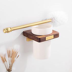 cheap Bathroom Gadgets-Toilet Brush Holder Creative Fun & Whimsical Wood 1pc - Bathroom / Hotel bath