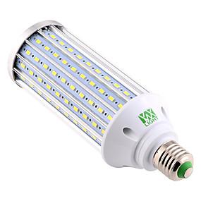 ieftine Becuri LED Corn-YWXLIGHT® 1 buc 60 W Becuri LED Corn 5850-5950 lm E26 / E27 160 LED-uri de margele SMD 5730 Decorativ Alb Cald Alb Rece Alb Natural 220 V 110 V 85-265 V / 1 bc / RoHs
