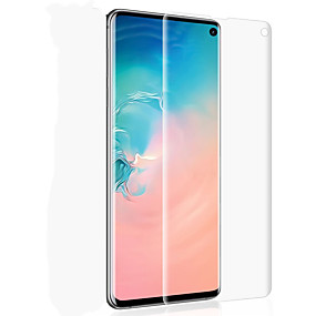 ราคาถูก ช้อปตามรุ่นโทรศัพท์-กันรอยหน้าจอ สำหรับ Samsung Galaxy Galaxy S10 / Galaxy S10 Plus / Galaxy S10 E PET 1 ชิ้น Front Screen Protector ความละเอียดสูง (HD) / 3D Touch Compatible / กันรอยขีดข่วน