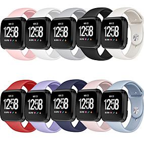 povoljno Remenje za Fitbit satove-sat bend za fitbit versa / fitbit versa lite fitbit moderna kopča / sport bend silikon ručni remen