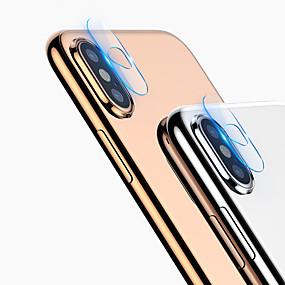 halpa iPhone 8 -suojakalvot-hd selkeä elokuva iphone x / xs / xs max / xr / 7 / 7s plus / 8/8 plus kameran linssin suojakalvo karkaistu lasi