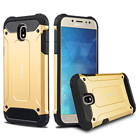voordelige Galaxy J5 Hoesjes / covers-hoesje Voor Samsung Galaxy J5 / Galaxy J5 Schokbestendig / Stofbestendig Achterkant Effen Hard TPU