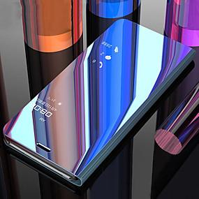 povoljno Samsung Galaxy S10 Plus-Θήκη Za Samsung Galaxy S9 / S9 Plus / S8 Plus Otporno na trešnju / sa stalkom / Zrcalo Korice Jednobojni PC