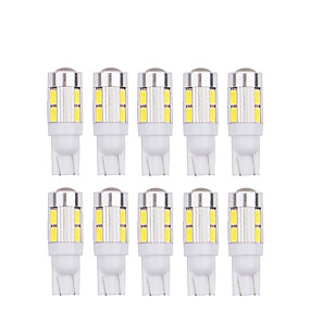 voordelige Auto-achterverlichting-10 stks t10 5630 10smd w5w led 194 168 w5w auto side wedge staart leeslamp lamp auto geven auto lamp 12 v