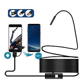 povoljno Zaštita i sigurnost-tip-c / mirco usb android mobilni telefon endoskop 5.5 mm 1 m mekana linija industrijska mini kamera
