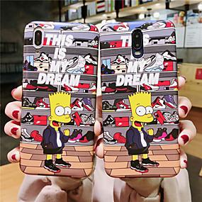 olcso iPhone tokok-Apple iphone xr / iphone xs max minta / imd hátsó borító rajzfilm lágy tpu iPhone x xs 8 8plus 7 7plus 6 6plus 6s 6splus