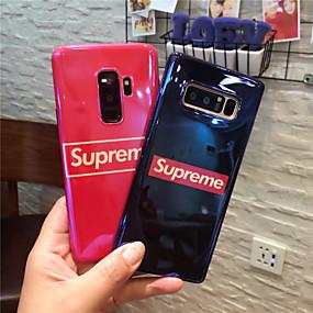voordelige Galaxy S7 Hoesjes / covers-hoesje Voor Samsung Galaxy S9 / S9 Plus / S8 Plus IMD / Patroon Achterkant Woord / tekst Zacht TPU