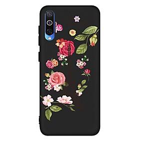 voordelige Galaxy A5(2016) Hoesjes / covers-hoesje voor Samsung Galaxy A6 (2018) / A6 Plus / A7 (2018) Schokbestendig / Mat / Patroon Achterkant Bloem TPU Soft voor Galaxy A10 / A20 / A30 / A20E / A40 / A50 / A70 / A80 / A8 2018 / A9 2018 / a5