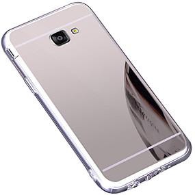 voordelige Galaxy A5(2016) Hoesjes / covers-hoesje Voor Samsung Galaxy A5(2016) Stofbestendig / Spiegel / Ultradun Achterkant Effen TPU