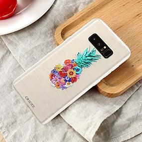 voordelige Galaxy S7 Edge Hoesjes / covers-hoesje Voor Samsung Galaxy S8 Plus / S7 edge / S6 edge Waterbestendig / Stofbestendig / Doorzichtig Achterkant Voedsel TPU