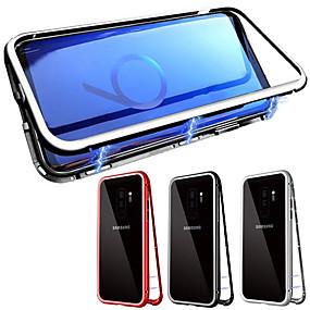 povoljno Kupuj prema modelu telefona-Θήκη Za Samsung Galaxy Galaxy S10 / Galaxy S10 Plus S magnetom Korice Jednobojni Kaljeno staklo