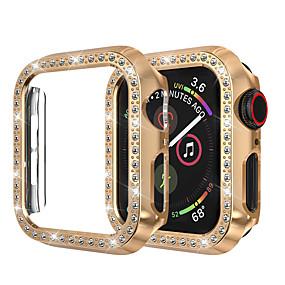 ieftine Accesorii Smartwatch-pentru ceas de mână carcasă iwatch 44mm / 40mm / 38mm / 42mm seria 4 3 2 1 carcasă de acoperire cu cadru de protecție cu diamant din stras din cristal