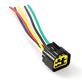 voordelige Motor- & ATV-onderdelen-6-pins CDI-draadkabelboom bedrading connectorplug voor Yamaha YBR125 Jym125