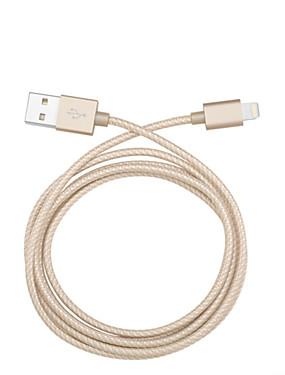 levne Prémiové značky-Osvětlení Kabel / Nabíjecí kabel / Data a synchronizace Pletený Kabely / Kabel iPad / Apple / iPhone pro 100 cm Pro Textil / Nylon