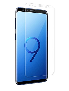 cheap Screen Protectors for Samsung-Screen Protector for Samsung Galaxy S9 / S9 Plus PET 1 pc Front Screen Protector High Definition (HD) / Explosion Proof / Ultra Thin