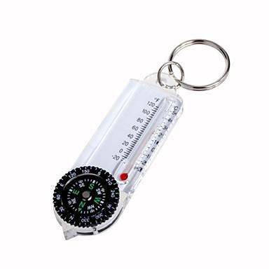compasso chaveiro com termômetro
