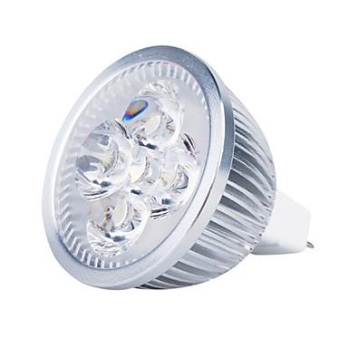 3000lm GU5.3(MR16) LED Spot Işıkları MR16 4 LED Boncuklar Yüksek Güçlü LED Sıcak Beyaz 12V
