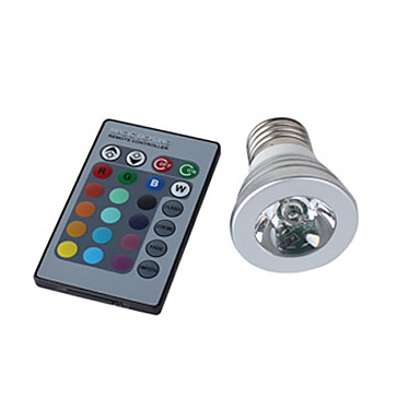 150 lm E26/E27 Faretti LED MR16 1 leds LED ad alta intesità Controllo a distanza Colori primari AC 100-240V AC 85-265V