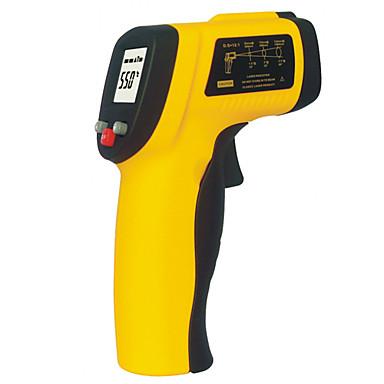 dijital lcd ir kızılötesi termometre gm550 temassız lazer sıcaklık ölçer (-50 ~ 550 ~ 1022 ℉ ℃ / -58)