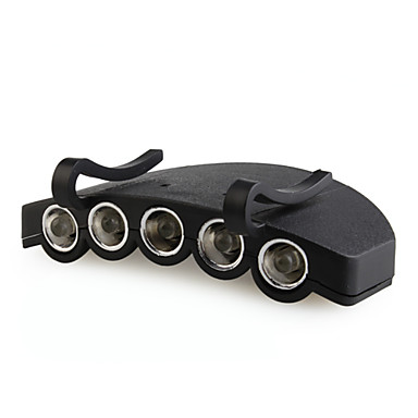 s-2853 luce potente cap 5-LED