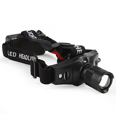 LED Flashlights/Torch Headlamps LED 210 Lumens 3 Mode Cree XR-E Q5 Batteries not included Adjustable Focus Tactical Compact Size Small