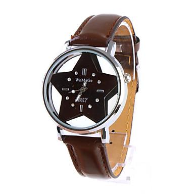 Women's Analog Quartz Wrist Watches (Brown)