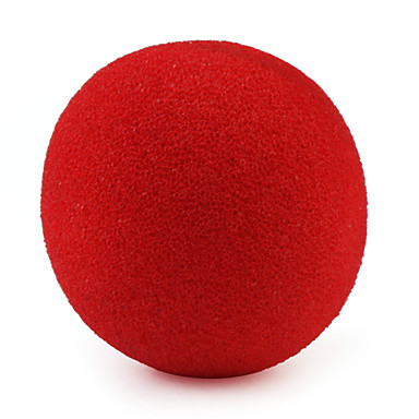 rød klovn nese moro