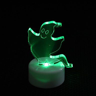 Ghost Design Colorful LED Night Light for Christmas Festival Decoration